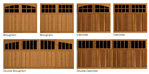Wood Amp Carriage House Style Wood Garage Doorsgarage Door